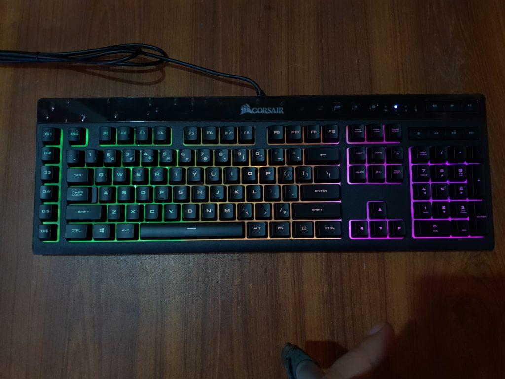 Corsair K55 RGB Review - exputer com