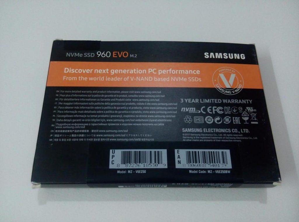 Samsung 960 EVO 250GB PCIe NVMe M 2 Internal SSD Review - exputer com