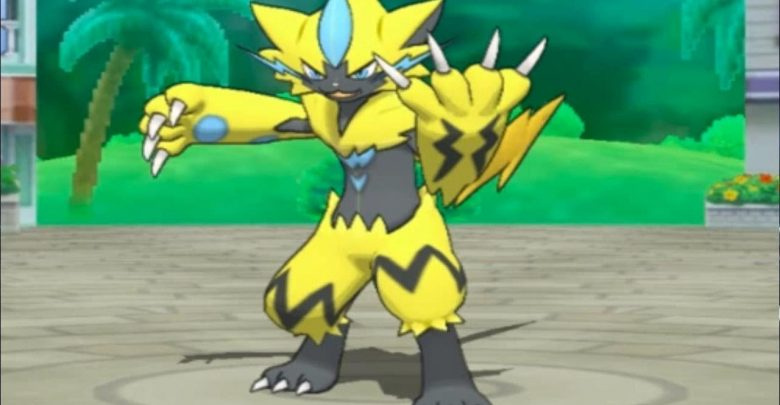 Pokemon Zeraora