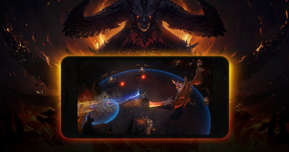 Mobile version: Diablo Immortal
