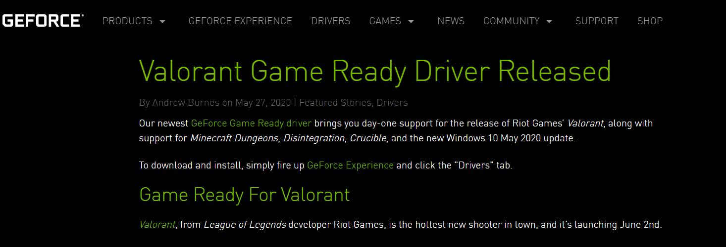 Best Nvidia Settings For Valorant