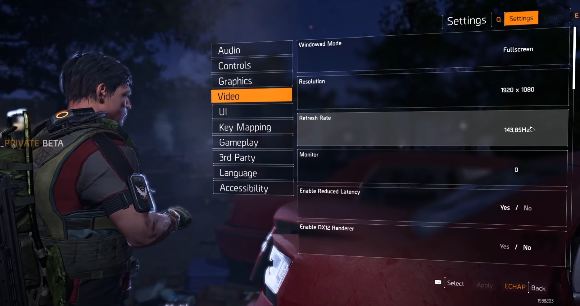 Best Settings for The Division 2