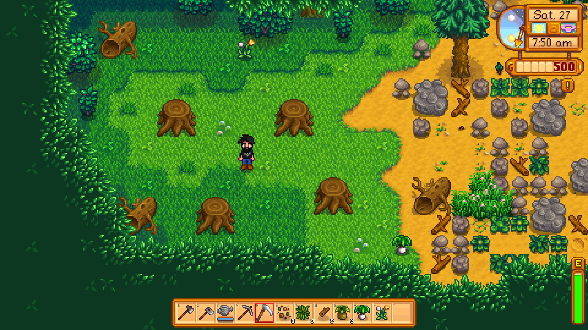 Stardew Valley Hardwood